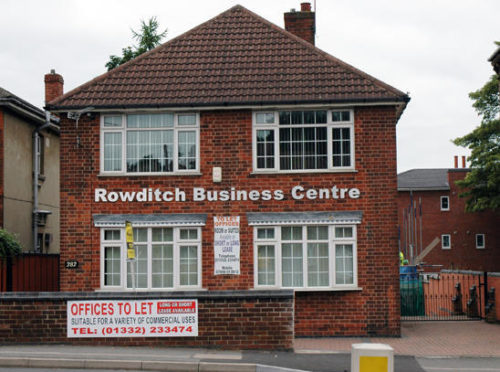 SERVICED OFFICE TO RENT, ROWDITCH BUSINESS CENTRE, UTTOXETER NEW ROAD, DERBY, DE22 3LN Image