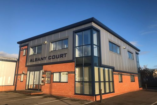 ALBANY COURT, AIRFIELD INDUSTRIAL ESTATE, ASHBOURNE, DERBYSHIRE DE6 1HA Image