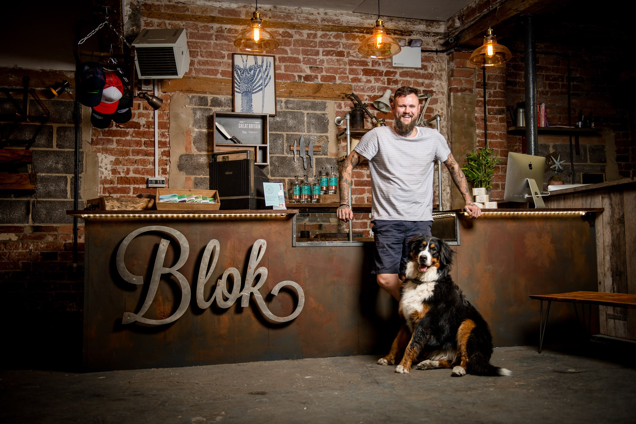 PMW PROPERTY WELCOMES LOCAL COMPANY BLOK KNIVES main image