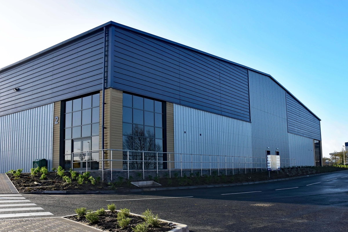 PMW PROPERTY ARE DELIGHTED TO WELCOME DIGITAL OFFICE SYSTEMS TO OUR NEW DEVELOPMENT OPTIMUM BUSINESS PARK IN SWADLINCOTE main image