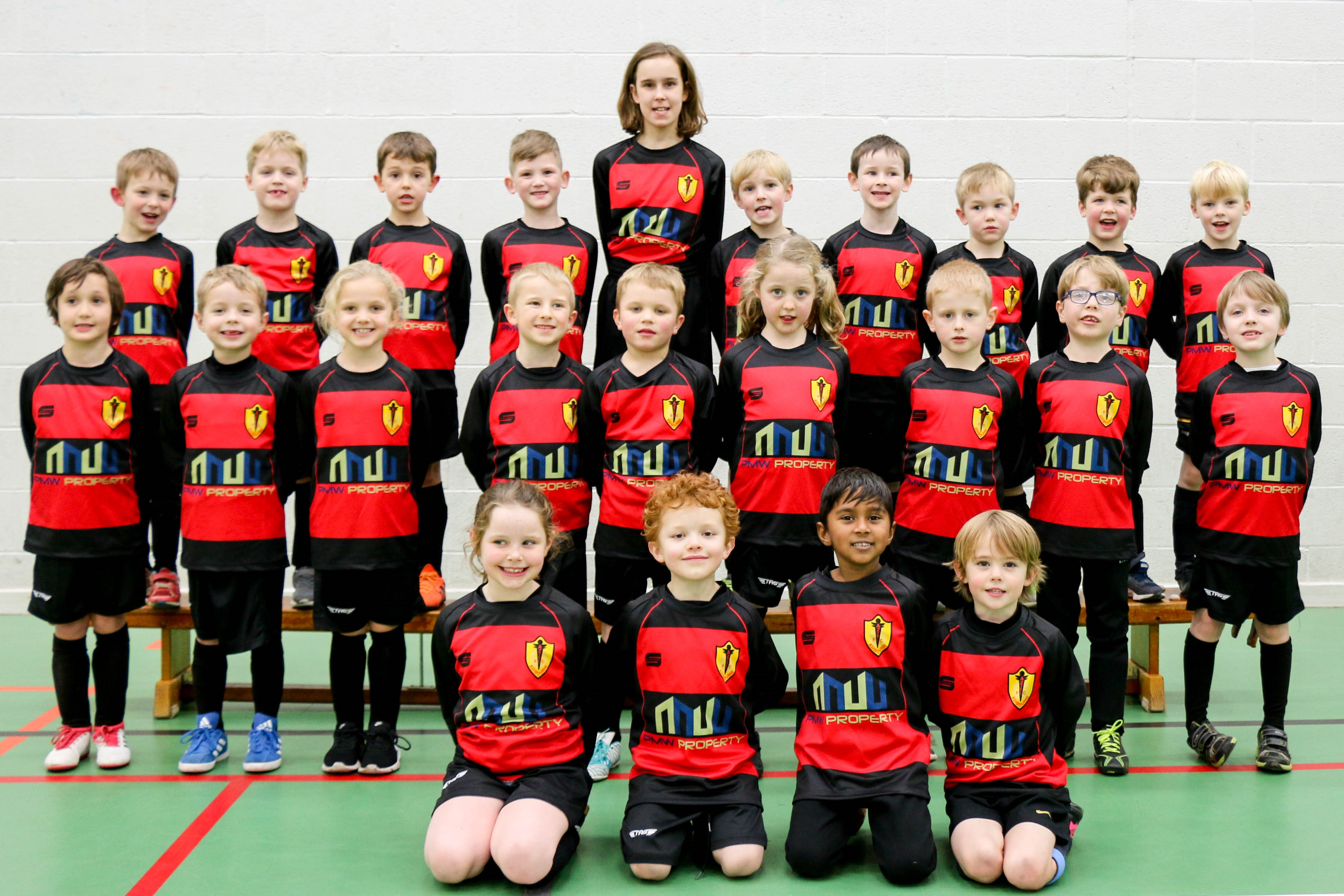 PMW PROPERTY SUPPORT LOCAL ASHBOURNE AZTECS JUNIOR FOOTBALL CLUB main image