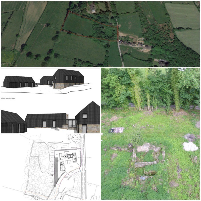 STUNNING HOLLY HOUSE PLOT FOR SALE main image